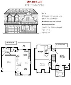 BRAND NEW All Brick 2 Storey For Sale In Lindsay, Ontario!