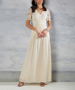 New, Never Worn - ModCloth Ivory Right Here & Vow Maxi Dress