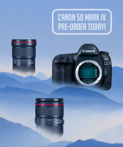 NEW: PRE-ORDER CANON 5D MARK IV at DOWNTOWN CAMERA
