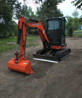Excavation/Grading Services -Barrie and area