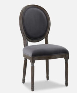 Restoration hardware style Louis chairs