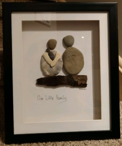Our Little Family shadow box framed wall art baby shower gift