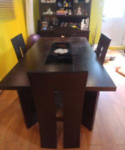table/ salle a manger 8 morceaux * 8 piece dining set