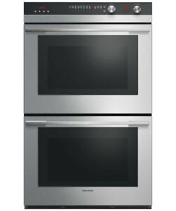 "Fisher & Paykel Double Built-in Oven, 30"" 8.2 cu ft, 11 Function"