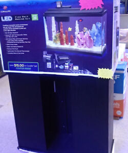 Coralife 29gal Aquarium and Stand SALE
