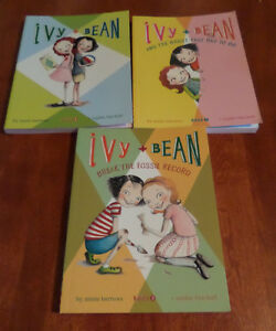 Ivy and Bean Books- 1,2 and 3  by Annie Barrows