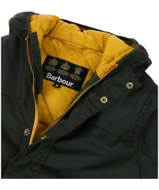 Brand new boys Barbour waxed padded Jacket