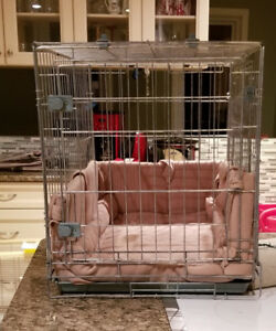 PRO SELECT SMART SNAP SILVER SAGE DOG CRATE
