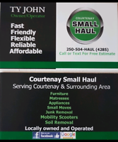 Courtenay Small HaulFor all your delivery needs!