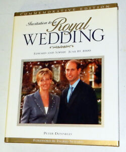 Invitation to a Royal Wedding: Edward and Sophie