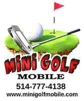 Jeux gonflables et Mini Golf Mobile ⛳ Partout au Québec!