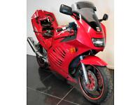 1994 94 L SUZUKI RF 600 RF600 RED DAMAGED REPAIRABLE PROJECT SPARES OR REPAIR