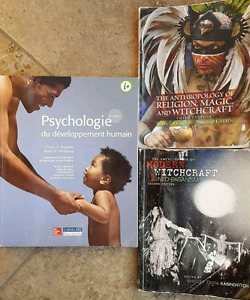 Nursing textbooks (1st and 2nd year - some french)