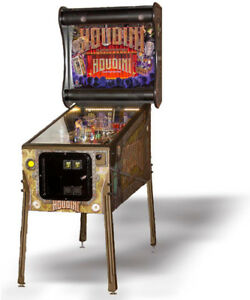 HOUDINI PINBALL - IN STOCK! At Canada's #1 Pinball Dealer!