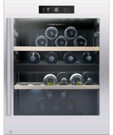 Fisher and Paykel wine fridge dual temp