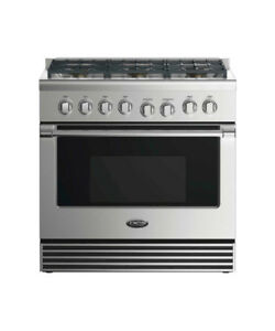 DCS 36 Inch GAS RANGE: 6 BURNERS STAINLESS STEEL