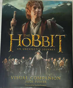 The Hobbit The Unexpected Journey Visual Companion Hard Cover Bo