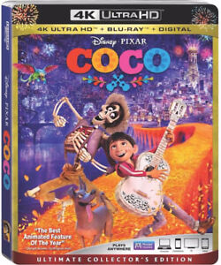 Coco - Ultimate Collectors Edition (4K + Bluray + Digital)