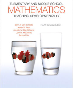 Elementary and Middle School Math 4th edition