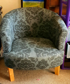 Damask Tub Chair