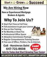 HIRING MORTGAGE AGENTS NEW OR EXPERIENCED