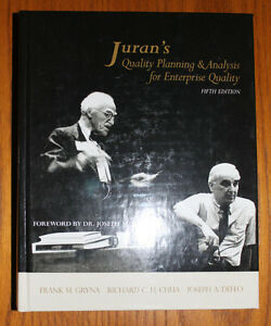 Juran's Quality Planning & Analysis for Enterprise Quality