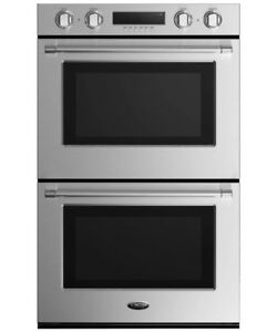 "60% oFF ON DCS 30"" DOUBLE WALL OVEN STAINLESS STEEL"
