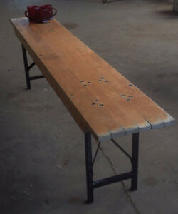 Maple Benches