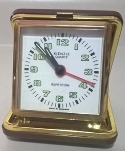 Vintage Kienzle Quartz Repetition Travel Alarm Clock