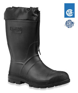 Kamik Steel-toed Rubber work boots (mens size 11)