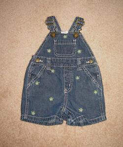 Gymboree Shortalls, Clothes - 0-3, 3-6, 6-12, 12 months
