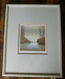 Peter and Traudl Markgraf Signed Print LOW TIDE