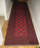 Hand made 100% wool runners for sale
