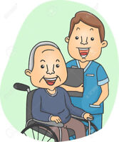 Certified male Continuing Care Assistant seeking home care Clien