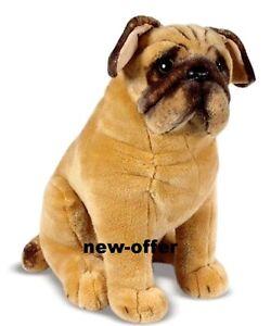pug dalmatian dog soft plush cuddly toy real life size 70cm 50cm 32cm ebay. Black Bedroom Furniture Sets. Home Design Ideas