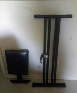 Keyboard Piano Stand and Stool