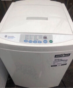 GE Spacesaver Stackable washer and dryer ( stacker included ).