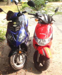 2 Scooters for 1750.00