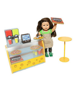 "Newberry Pizza Shop for 18"" Dolls like American Girl"
