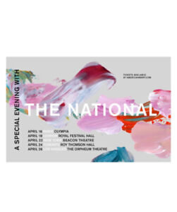 Tickets for the National- TOMORROW