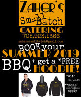 Catering - *FREE Hoodie with SUMMER 2019 BBQ booking!