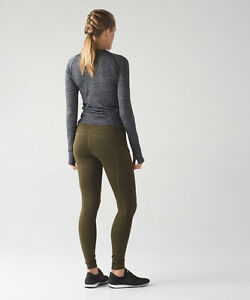 Lululemon first mile tech tights