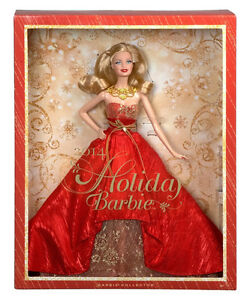 NEW - Barbie Collectible 2014 Holiday Doll