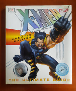 X-MEN / WOLVERINE ULTIMATE GUIDE - Hard cover book 184 pgs. 2003