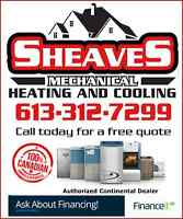 Heating and Cooling - High Efficiency Quality Canadian Products