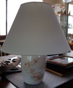 Lamp and shade, very lovely only $18