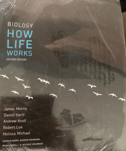 Biology How Life Works 2nd Edition Never used-wrapped
