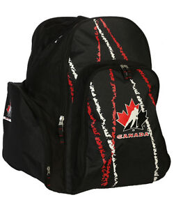 Team canada backpack hockey bag