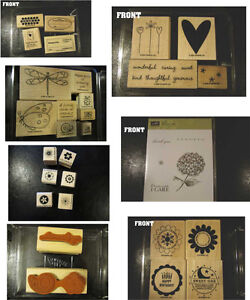 Assorted Stampin up sets