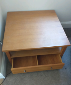 Next hudson oak coffee table
